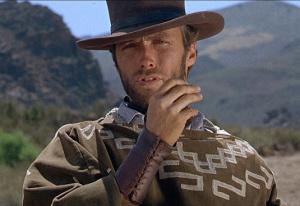 Uomo pragmatico Clint Eastwood
