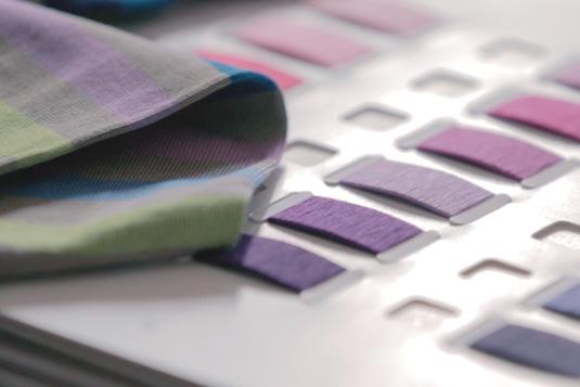 Cartella colori e campione di calze - Claudia Facenti, Tailored Socks Strategist